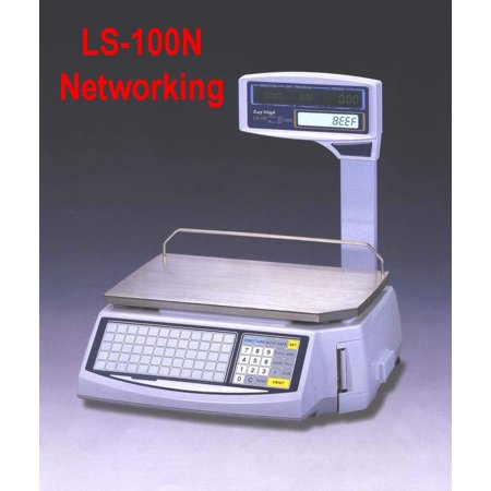 New Easy Weigh LS-100N Fast Reliable Price Computing Printing Scale