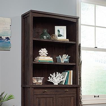 Costa Library Hutch Cfo-Finish:Coffee Oak,Style:Cottage