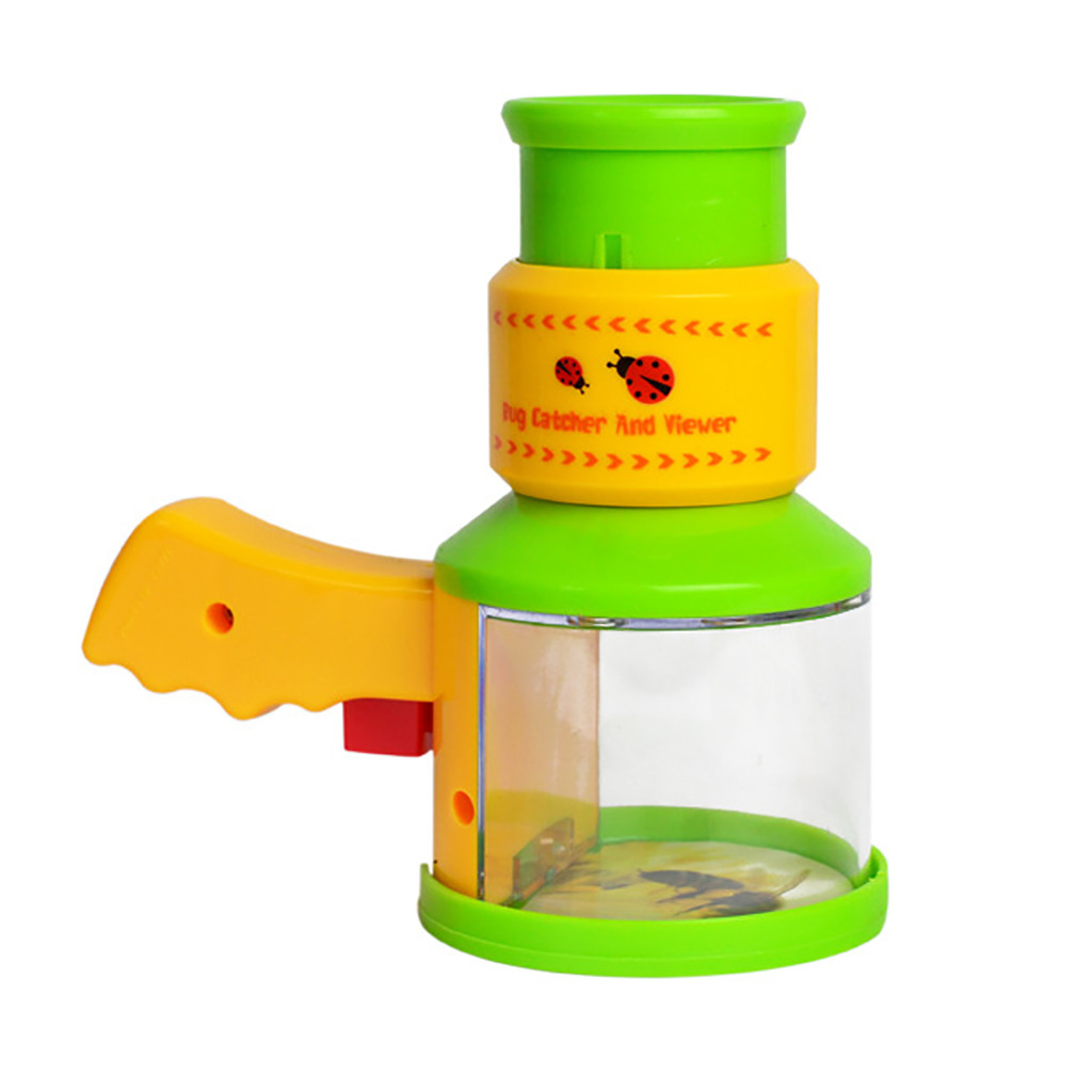 Toys Learning Children Science View Microscope Case Cage Insect Observation Box