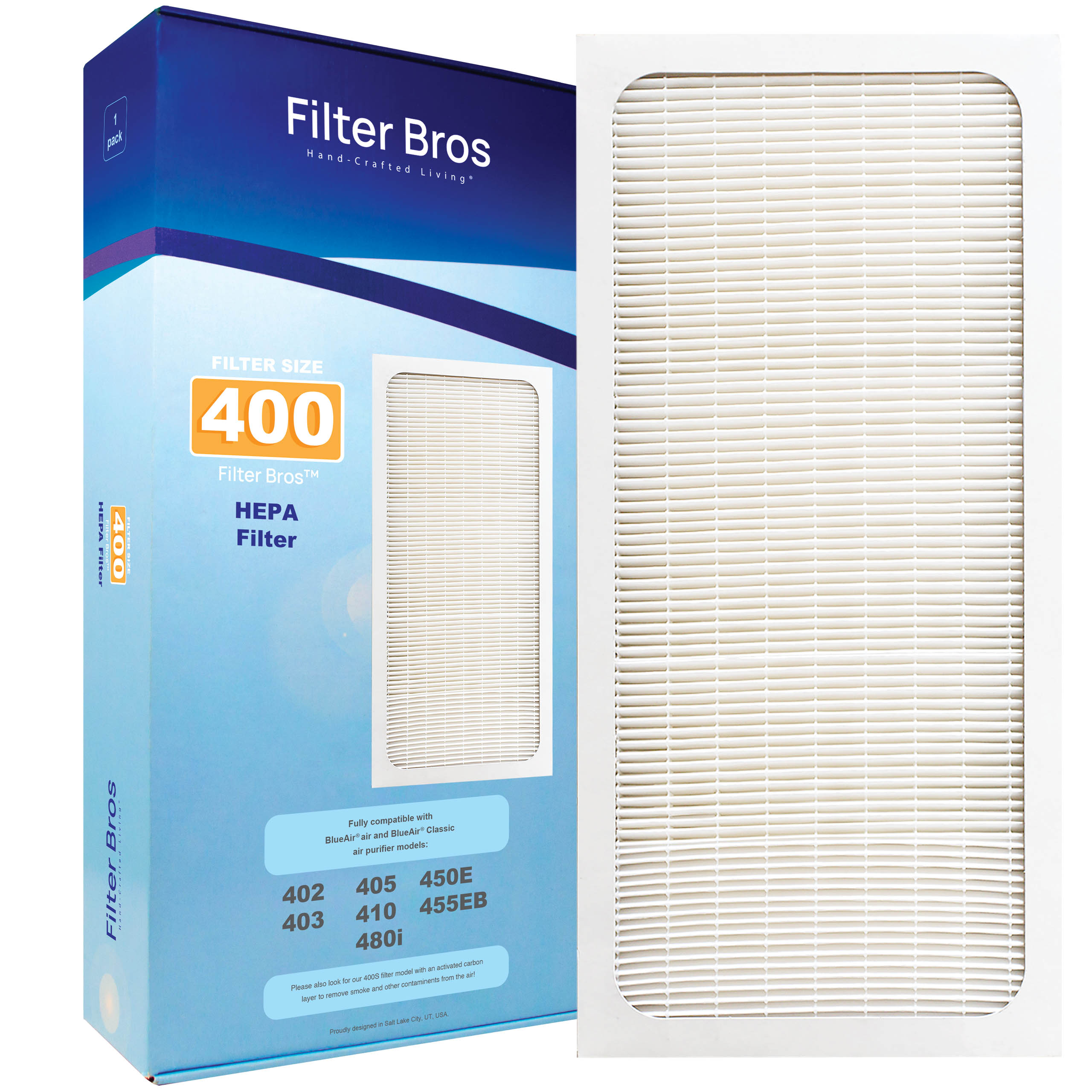 410 Series 3 Pk 403 Replacement Purifier Filter for Blueair Classic 402 405