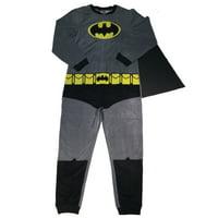 Batman Men's Gray Union Suit, Medium