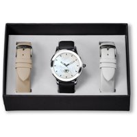 Green Bay Packers Sparo Women's Three Strap Watch Gift Set - No Size