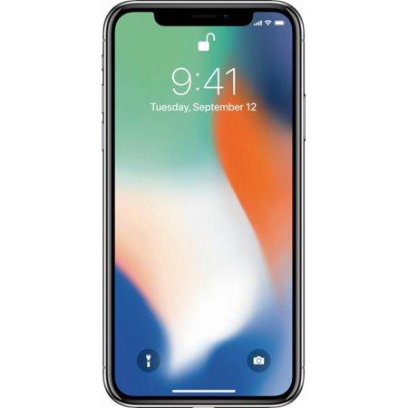 Refurbished Apple iPhone X 256GB, Silver - Locked Sprint