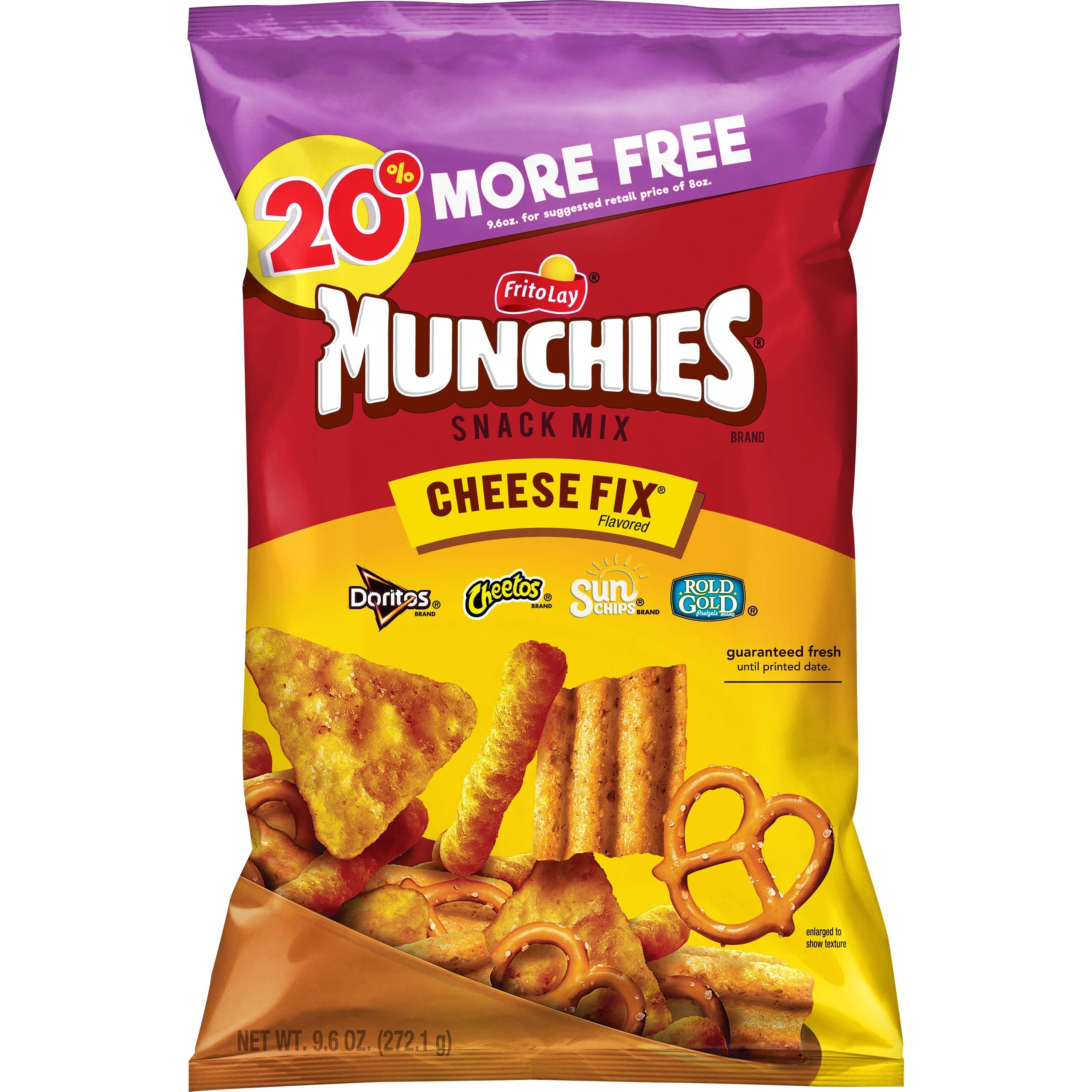 Munchies Cheese Fix Xl 20% More 9.6oz