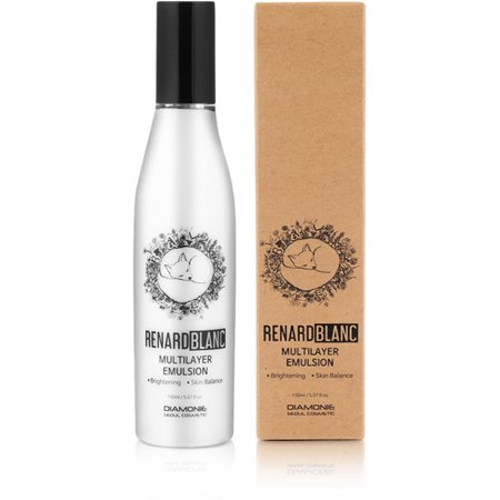 - RENARDBLANC MULTILAYER EMULSION, Hypo-Allergenic Recipe with Niacinamide for Brightening, and the FIRST Multilayer formulization for Moisturizing and Balancing. (150ml / 5.07 fl.oz.)