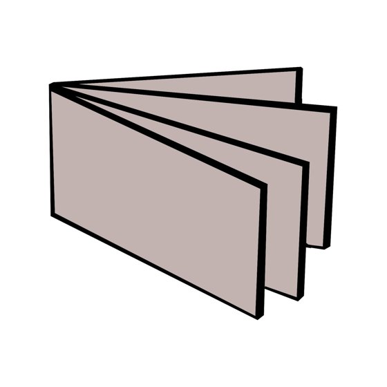 Buxton Size One Size Vinyl Window Inserts For Billfold