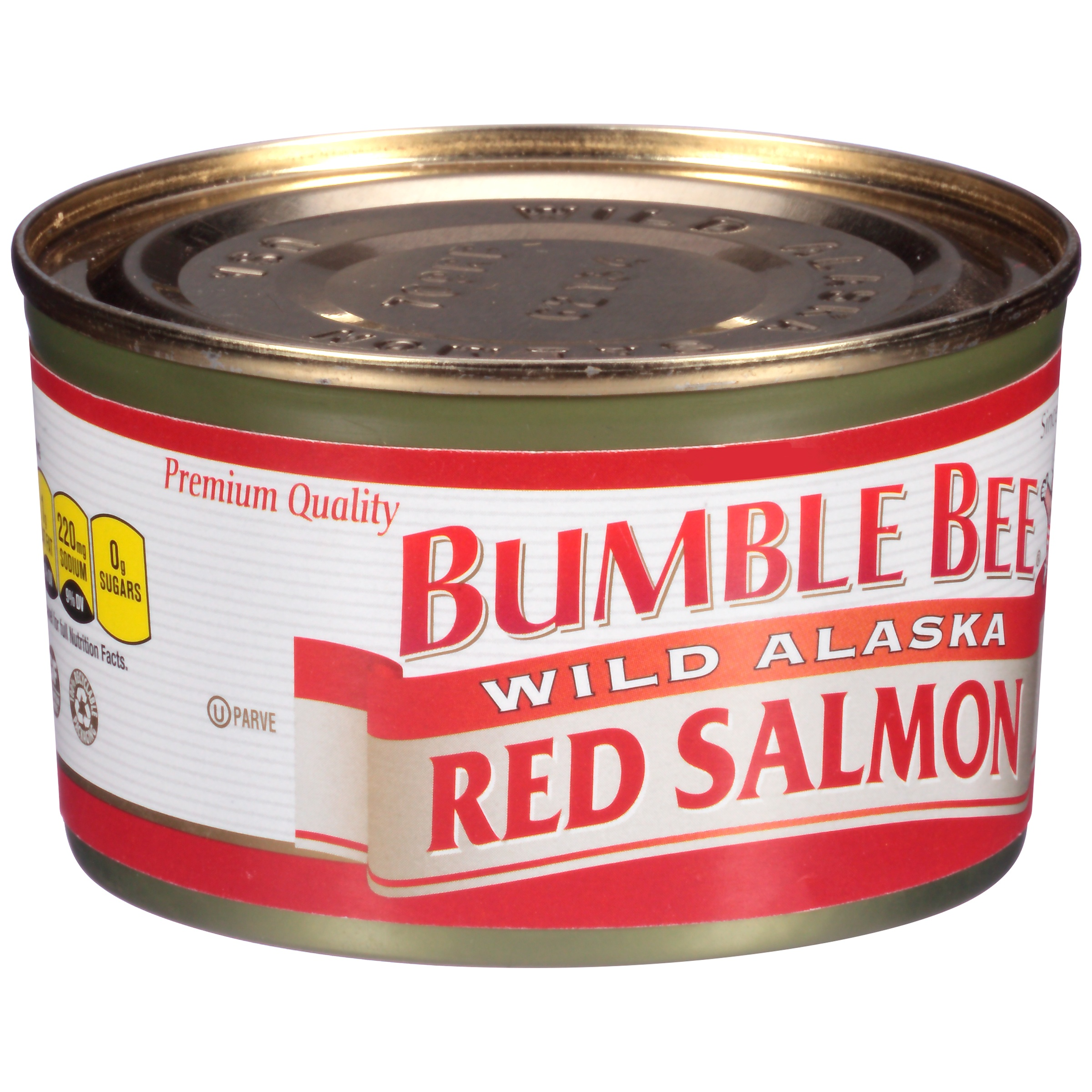 Bumble Bee Wild Alaskan Red Salmon, 7.5oz can by Bumble Bee Foods