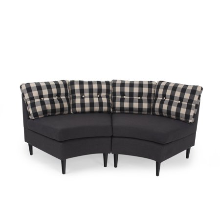 - Christopher Knight Home Jazmine Contemporary 2 Seater Modular Fabric Sectional by