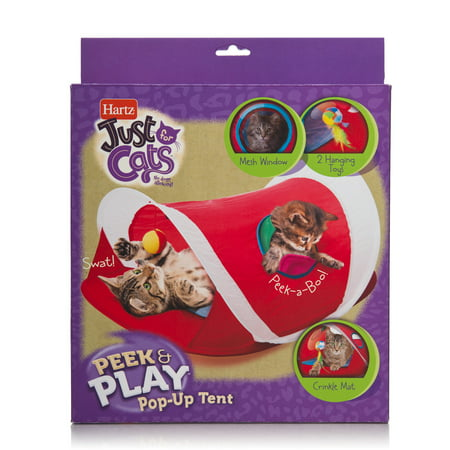 Hartz Just For Cats Peek and Play Cat Toy
