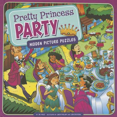 Pretty Princess Party : Hidden Picture Puzzles