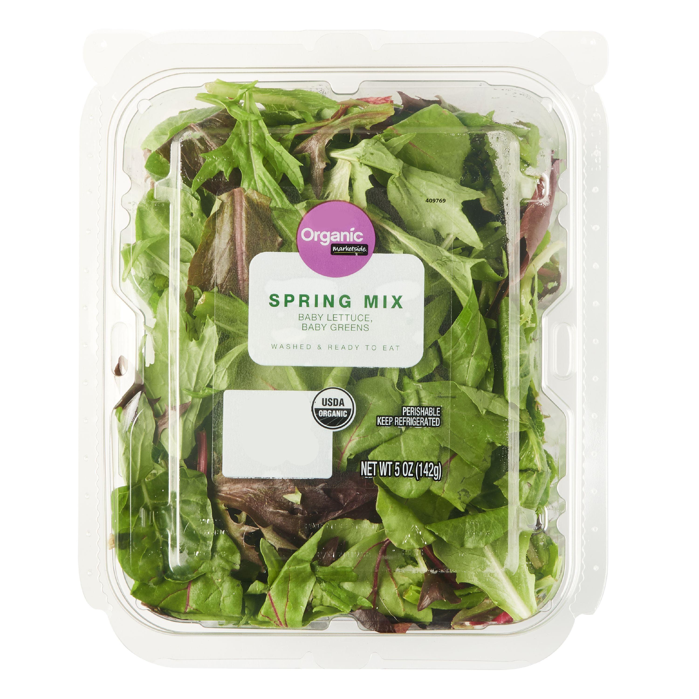 Marketside Organic Spring Mix Salad, 5 oz