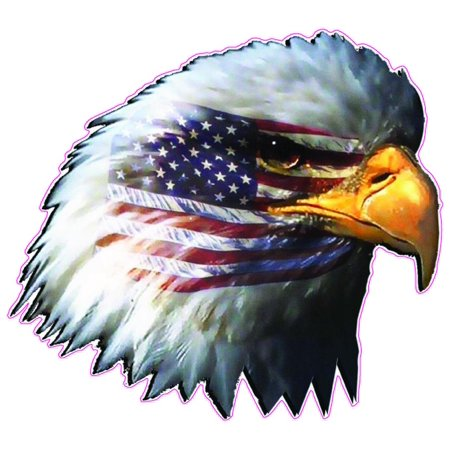Eagle Head Decal (American Flag Eagle Head is 5