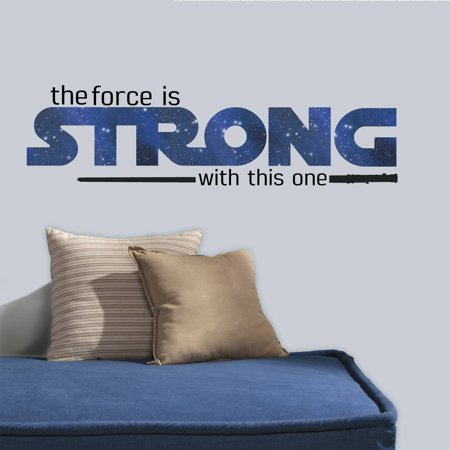 RoomMates Star Wars Classic The Force Is Strong Peel and Stick Wall Decals](Star Wars Decals)