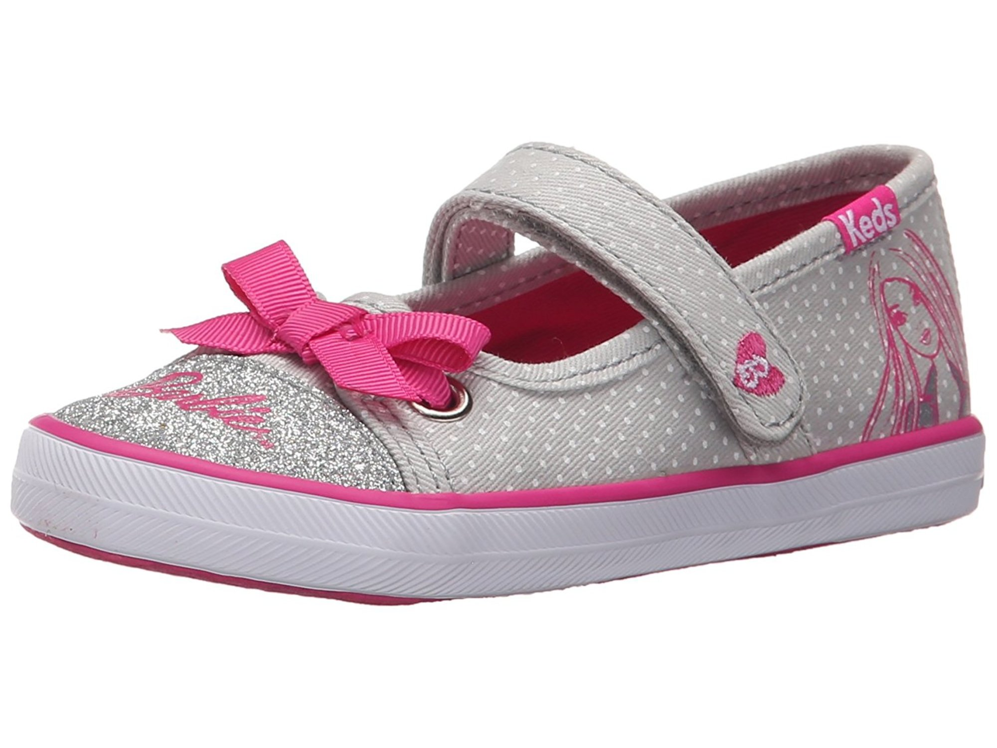Keds Barbie Mary Jane (Toddler Little Kid) by Keds