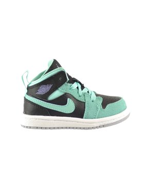 newest 55c9e a0695 Product Image Jordan 1 Mid GT Toddler Shoes Black Iron Purple Bleached  Turquoise 644507-045