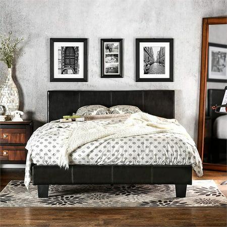 Kingfisher Lane Queen Platform Bed in Espresso ()