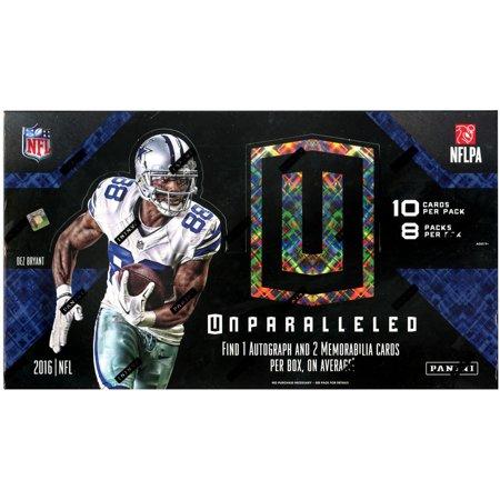 NFL Football 2016 Unparalleled Trading Card HOBBY Box
