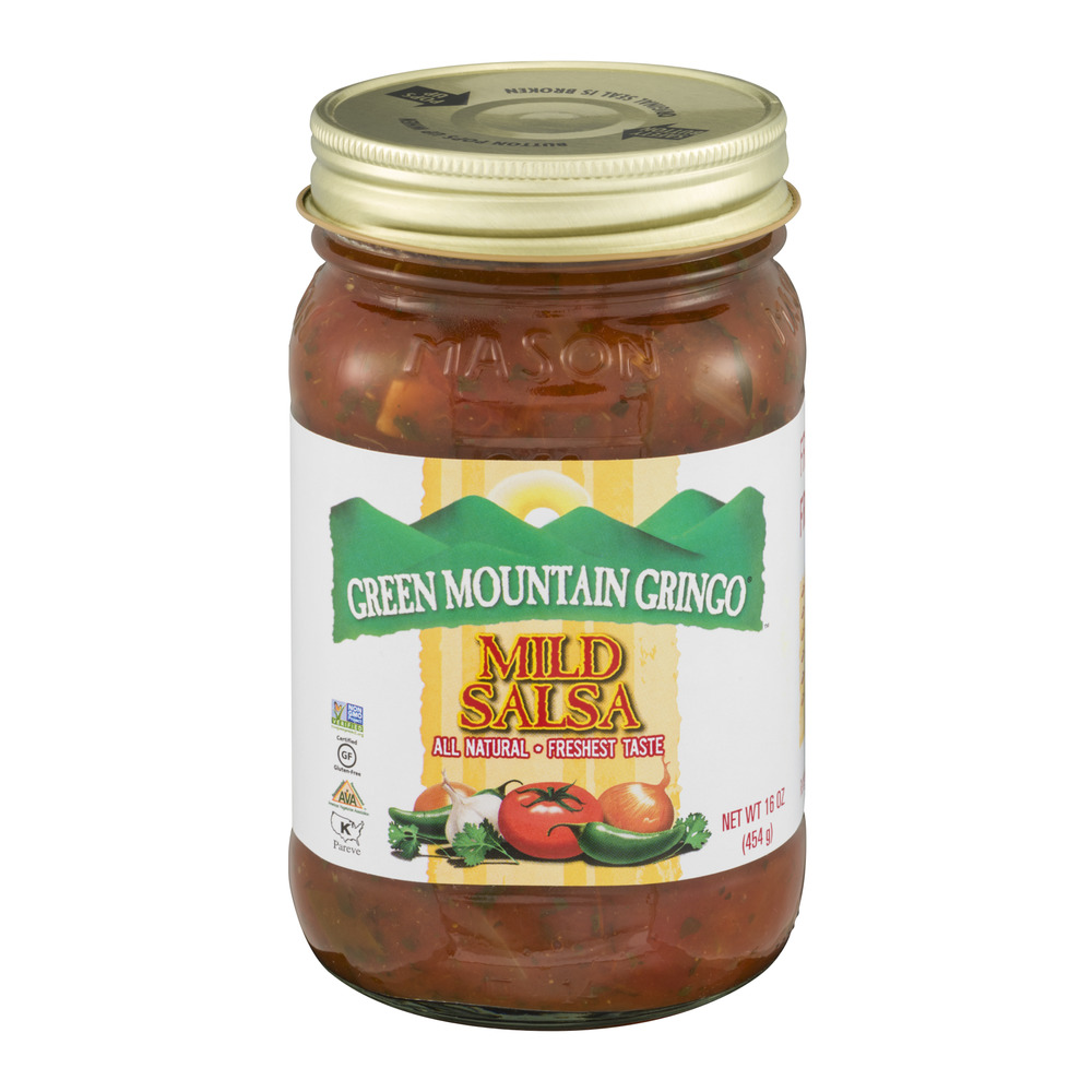 Green Mountain Gringo Mild Salsa, 16.0 OZ by TW Garner Food Co