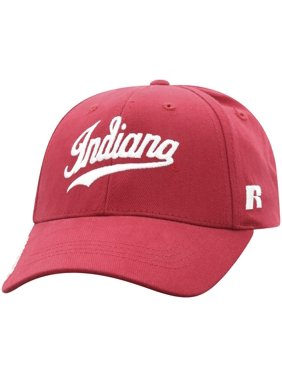 Men's Russell Athletic Crimson Indiana Hoosiers Endless Adjustable Hat - OSFA