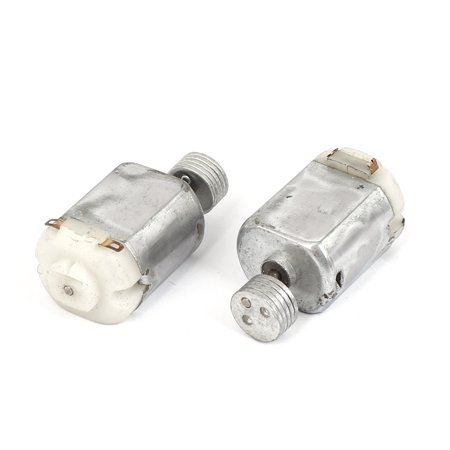 2 Pcs Dc 6v 5200rpm Electric Vibrating Vibration Motor 130