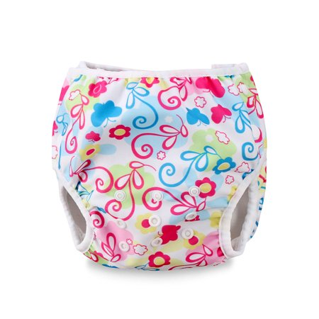 The Noble Collection Summer Swim Diaper Nappy Pants Reusable Adjustable Infant Baby Boy Girl Toddler