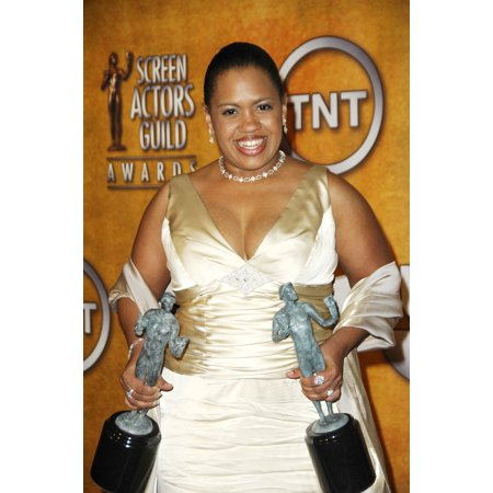 Chandra Wilson In The Press Room For Sag 13Th Annual Screen Actors Guild Awards - Press Room The Shrine Auditorium Los Angeles Ca January 28 2007 Photo By Michael GermanaEverett Collection Celebrity