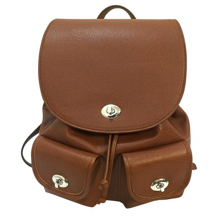 Concealed Carry Womens Backpack Brown