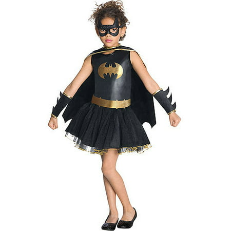 Halloween Costumes White (Batgirl Tutu Child Halloween)