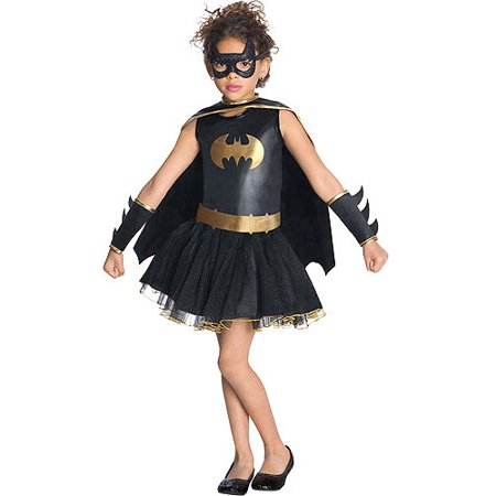 Batgirl Tutu Child Halloween Costume (Cat In The Hat Tutu Costume)