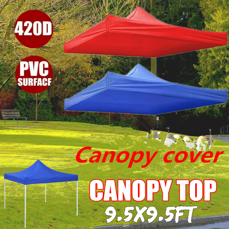 9.5FT Canopy Top Replacement Patio Gazebo Outdoor Sunshade Tent Cover US STOCK
