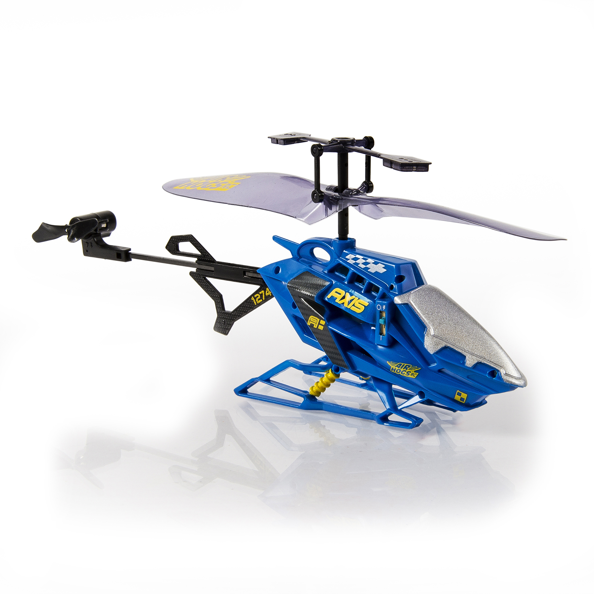 Air Hogs RC Axis 200 R/C Helicopter- in colors Black, Blue, Gray, and Red