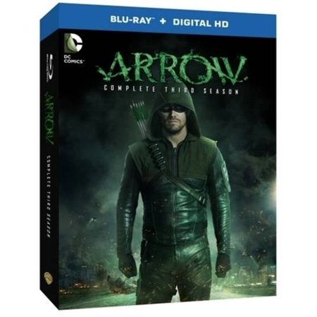 Arrow  The Complete Third Season  Blu Ray   Digital Hd With Ultraviolet