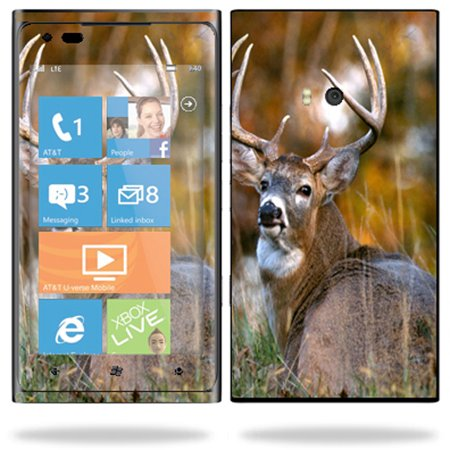 Skin Decal Wrap for Nokia Lumia 900 4G Windows Phone Sticker Brown (Best Phone In Nokia Lumia Series)