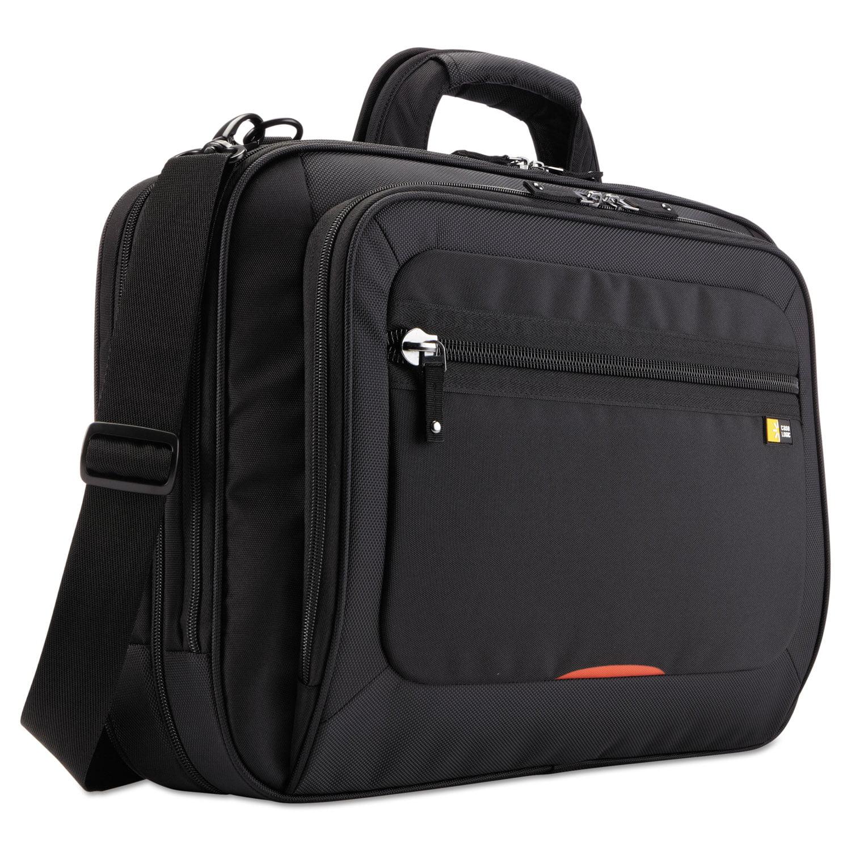 "17"" Checkpoint Friendly Laptop Case, 5 1 2 x 13 1 4 x 18, Black by Case Logic"