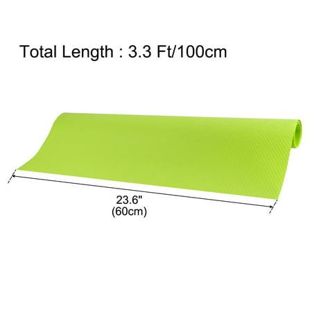 Cuisine Tapis Papier mat imperméable Cabinet Table Placard Tiroir Doublure Protecteur Vert 60 x 100cm - image 6 de 7