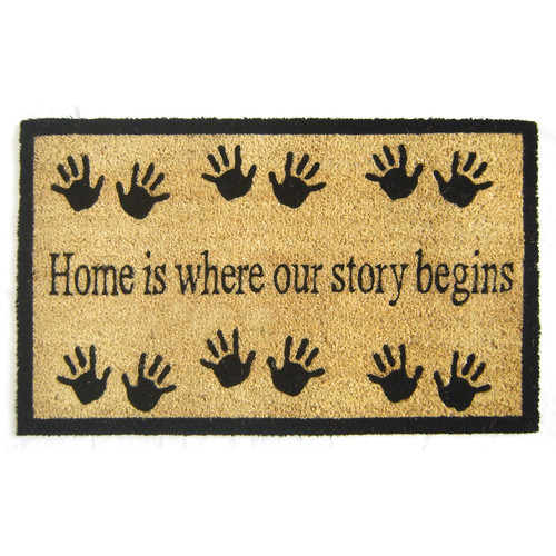 Geo Crafts, Inc Story Begins Doormat