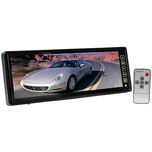 Pyle 10.2'' TFT LCD Rear View Mirror Monitor with Back Up Waterproof/