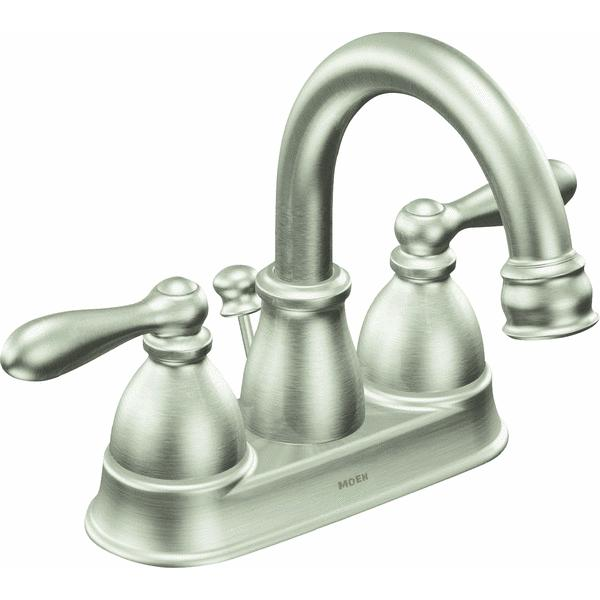 Moen 8277 M-DURA Centerset Commercial Kitchen Faucet, Chrome ...