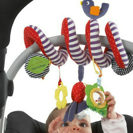 FUNNY Baby Infant Rattles Stroller Hanging Bed Play Toy Doll