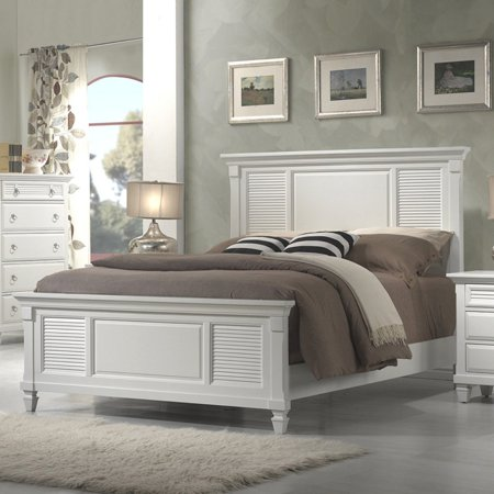 Alpine Furniture Winchester Panel Bed, Multiple Sizes ()