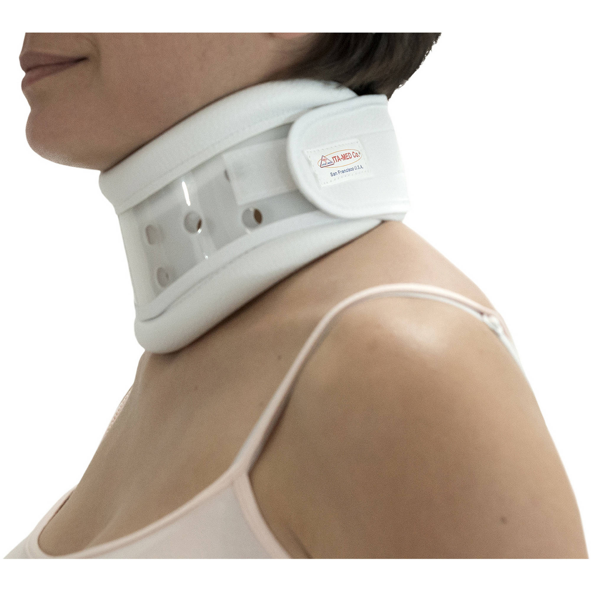 ITA-MED Rigid Plastic Cervical Collar: CC-260