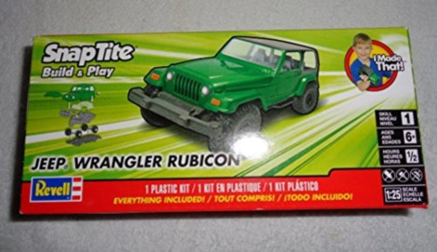 Revell SnapTite Build & Play 04' Jeep Wrangler Model Kit by Revell