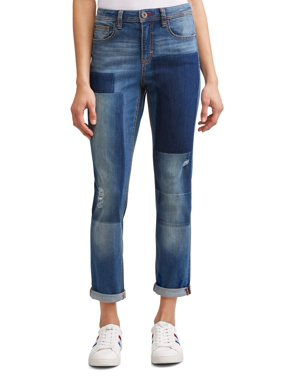 Alex Relaxed Vintage Patchwork Jean Women's (Medium Wash)