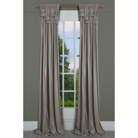 RT Dressings  Chelsea Brook Beaches Shimmer Single Curtain Panel ()
