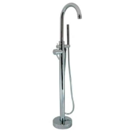 Cambridge Plumbing CAM150 BN Clawfoot Tub Modern Freestanding Faucet Walmar