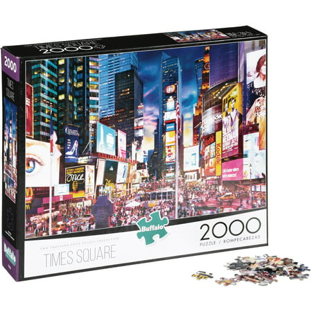 Buffalo⢠Two Thousand Piece Collection⢠Times Square Puzzle 2000 pc - Blank Puzzle Pieces Michaels