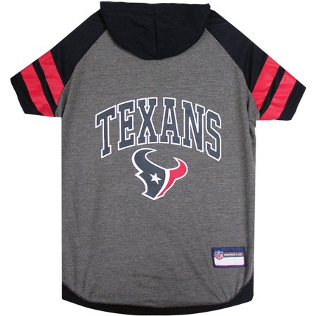 Pets First NFL Houston Texans Pet Hoodie Tee Shirt