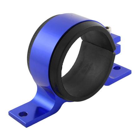 - Unique Bargains Aluminum 57mm Dia Fuel Pump Mounting Bracket Single Filter Clamp Cradle Blue
