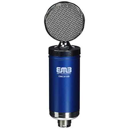 - EMB EMC910 Multi-Pattern Large Diaphragm Condenser Studio Microphone BLUE