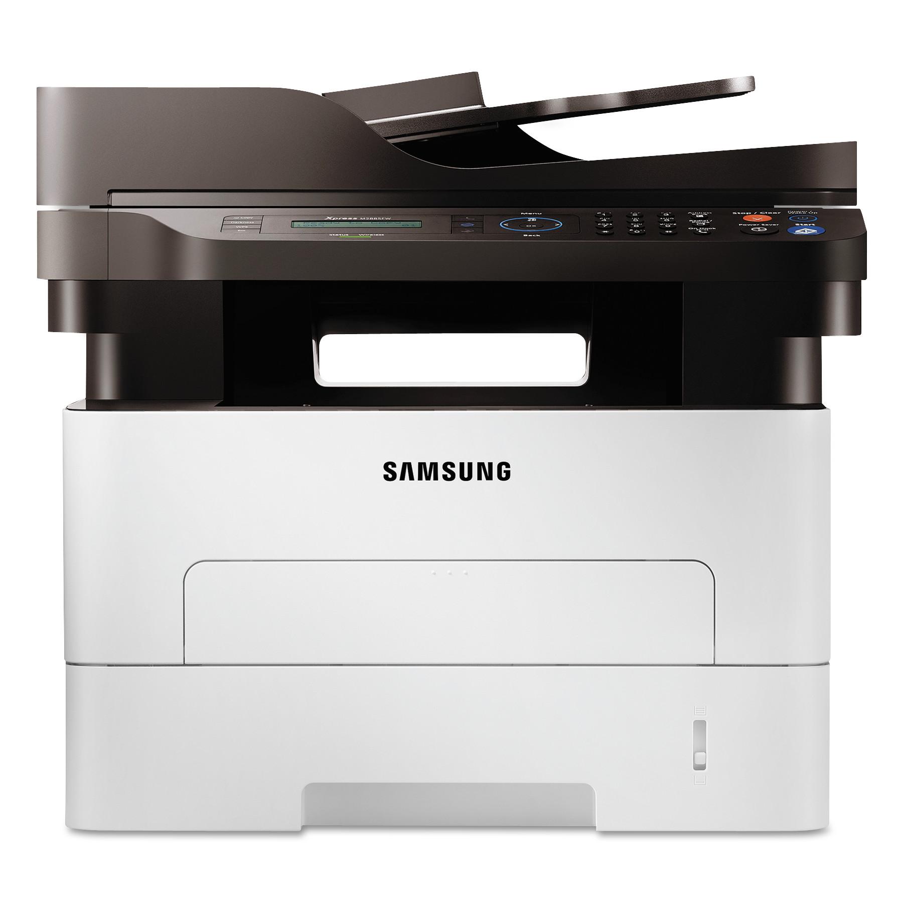 Samsung SL-M2885FW Multifunction Laser Printer, Copy/Fax/Print/Scan